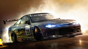 Drift Racing Car Desktop Wallpaper