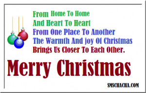 Best Christmas Quotes Sms