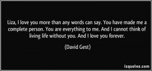 More David Gest Quotes