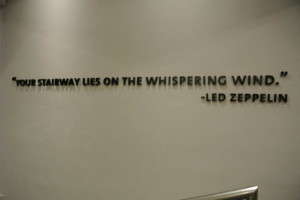 Hard Rock Hotel Riviera Maya: Led Zeppelin music quote at Heaven