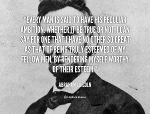 quote Abraham Lincoln every man is said to have his 40881 png