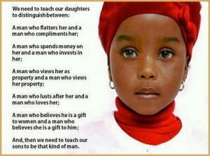 We need to teach our daughters