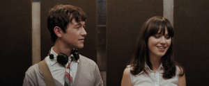 Zooey Deschannel and Joseph Gordon-Levitt in (500) Days of Summer