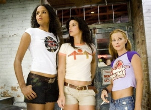 Jungle Julia, Arlene & Shanna from Death Proof. Sydney Poitier Vanessa ...