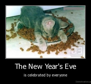 New Year's Eve Caturday