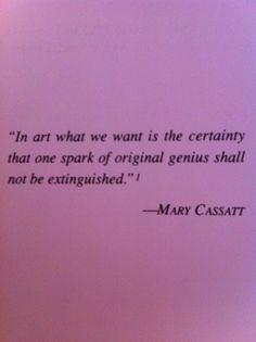 Mary Cassatt More