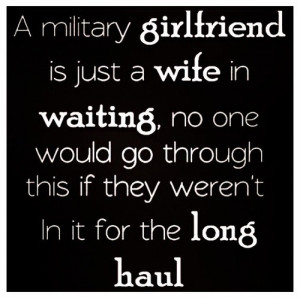 military navy girlfriend quotes