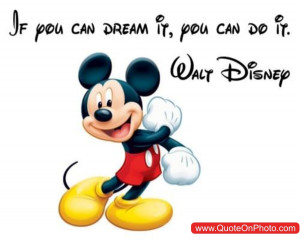 walt disney quotes if you can dream it