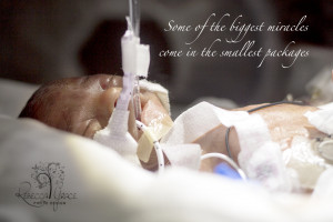 Blessing from Heaven – The little Micro Preemie