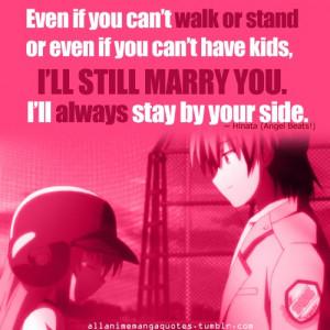 Quotes [Hinata - Angel Beats!]