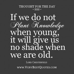 thoughts of the day on knowledge, knowledge quotes
