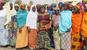 News In Pictures Ngozi Okonjo Iweala visits Chibok