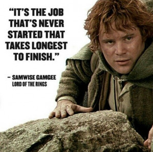 Quote by samwise gamgee of lord of the rings