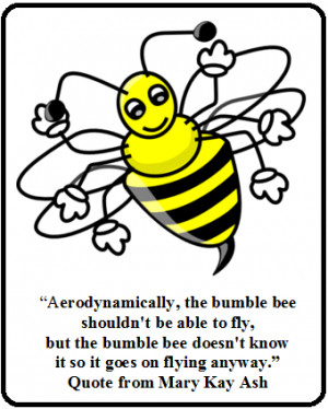 Bumble Bees Can't Fly??? - Image