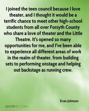 over Forsyth County who share a love of theater and the Little Theatre ...