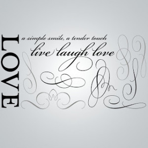 See more Quotes about Love is a simple smile, a tender touch