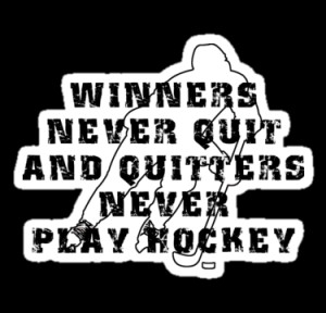 SportsT-Shirts › Portfolio › Hockey Quote