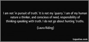 More Laura Riding Quotes