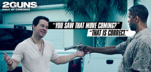 ... quote - Denzel Washington and Mark Wahlberg #2Guns #movies #quotes #
