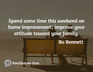 Spend some time this weekend on home improvement; improve your ...