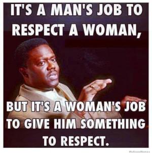 Bernie Mac on respect – It's a man's job to respect a woman ...