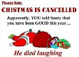Funny Christmas Warnings