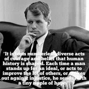 Le 5 juin 1968 on tirait sur Bob Kennedy