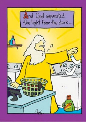 Funny God Church Bible Sunday School Cartoon Joke