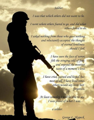 Army Strong, Army Veterans, Army Poem, Army Soldiers Quotes, Army Navy ...