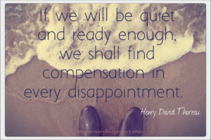 Dealing with Disappointment Quotes