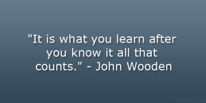 john wooden quotes | John Wooden Quotes Sayings Motivational Famous ...