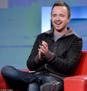 Aaron, of course, went on to star as Jesse Pinkman in the hit AMC ...