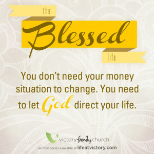 Do you live a blessed life?