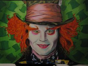 Johnny Depp Mad Hatter...