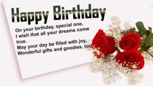 Celebrate birthday with birthday poems
