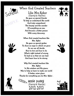 Search Results for: Cute Teacher Appreciation Poems