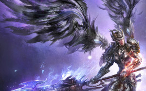 Alpha Coders Wallpaper Abyss Fantasy Angel Warrior 262348