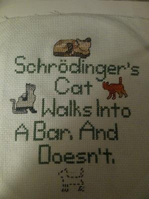 Schrodinger's Cat by CarpeComma