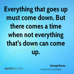 George Burns Time Quotes