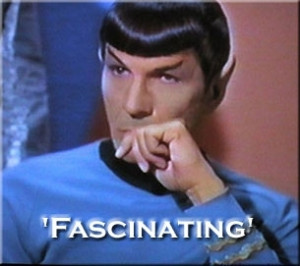 ... Spock quotes came out — many of which were funny and even insightful