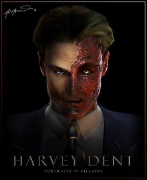 Portraits of Villainy: Harvey Dent
