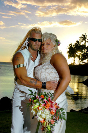Dog The Bounty Hunter and Beth Chapman On Their Wedding Day May 20th ...
