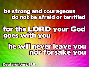 Quotes From The Bible About Strength And Courage Bible quotes