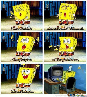 Spongebob You Dirty Boy.