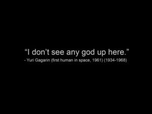 Don't See Any God