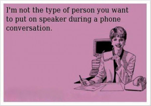 Funny ecard – Phone conversation