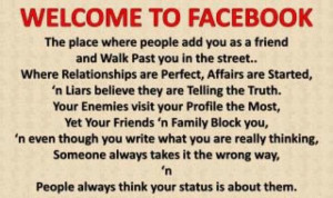 Categories » Facebook » Welcome to Facebook