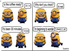 Coffee ~ Minions