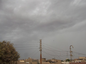 Orangi Town Cloudy Weather Quotes In April 2012