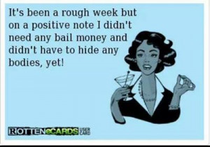 rough week...